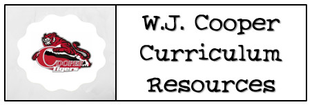 W.J. Cooper Curriculum Resources