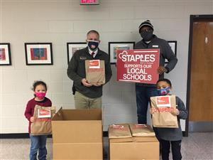 Staples supports our local schools!