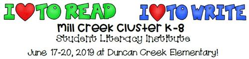 Mill Creek Cluster Literacy Institute