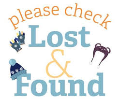 Please check Lost and Found