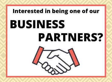 Interested in being one of our business partners?