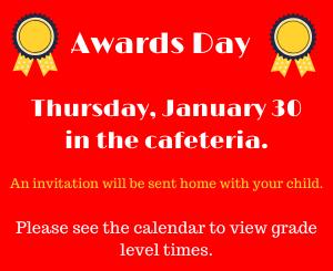 Awards Day Flyer