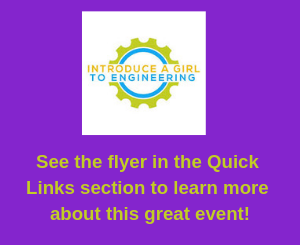 Introduce a Girl to Engineering Flyer
