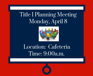 Title I Planning Meeting Image