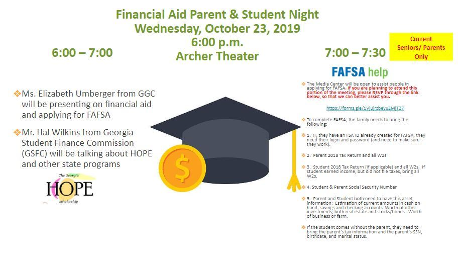 Financial Aid Parent & Student Night