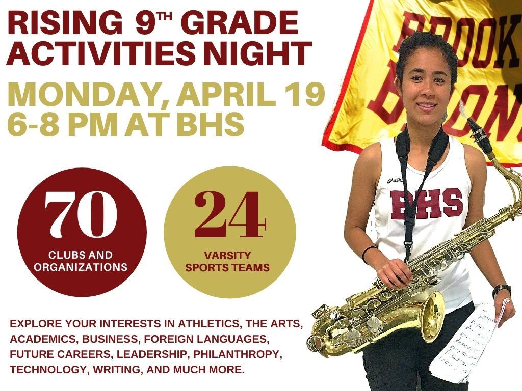 Rising 9th Activities Night April 19