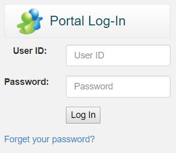 Parent Portal login image to click to the site
